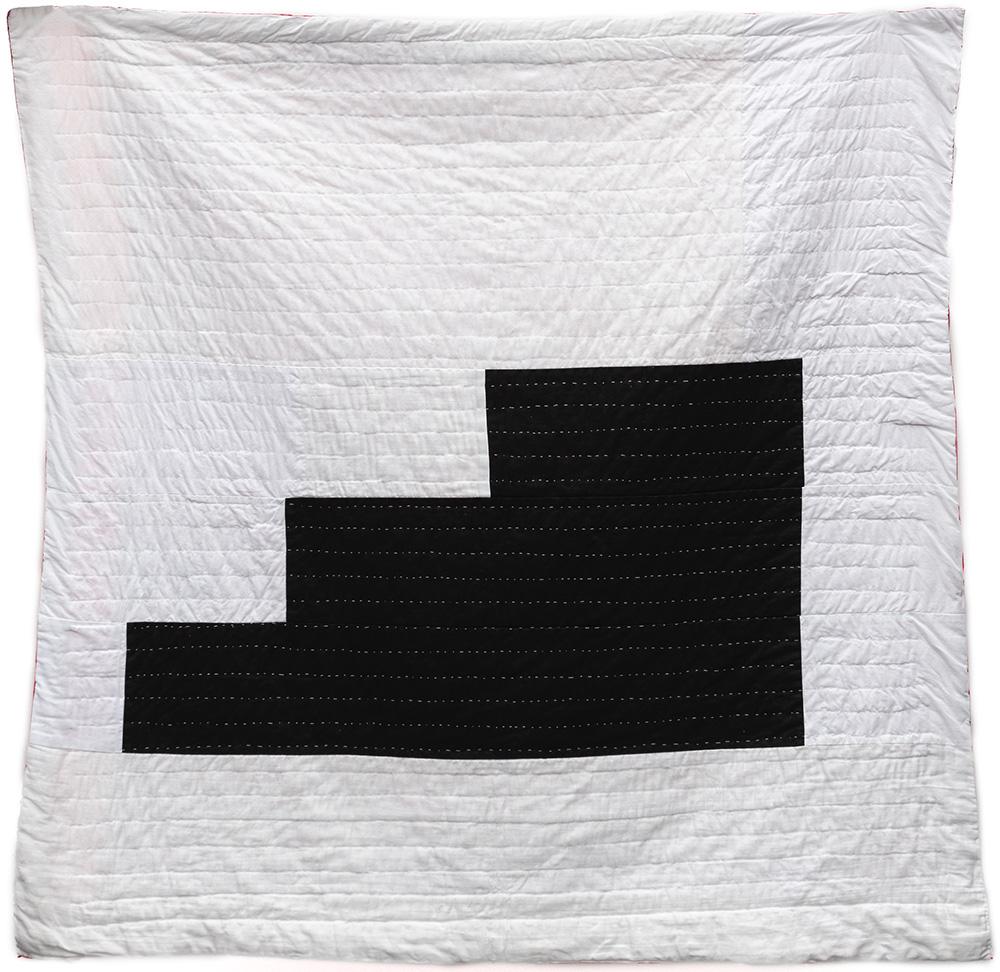 Arrange Whatever Pieces Come Your Way - Quilt 8 Back